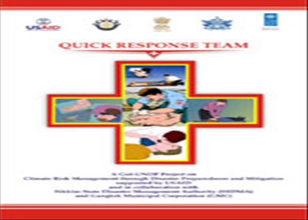 Quick Reaction Team- Curved- IEC Material for Sikkim