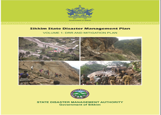 Sikkim State Disaster Management Plan Volume 1.