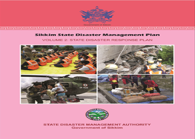 Sikkim State Disaster Management Plan Volume 2.