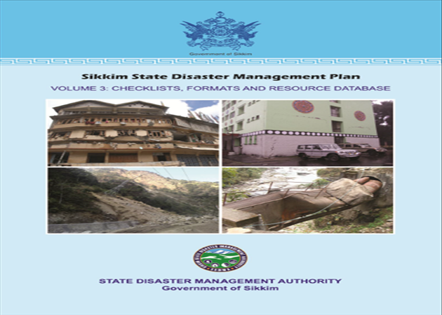 Sikkim State Disaster Management Plan Volume 3.