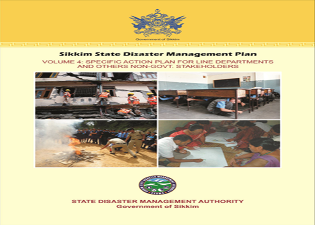 Sikkim State Disaster Management Plan Volume 4
